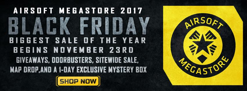 Airsoft Megastore Black Friday Sale