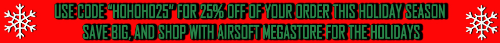 Airsoft Holiday Stocking Stuffers