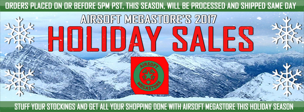Airsoft Megastore Holiday Sale