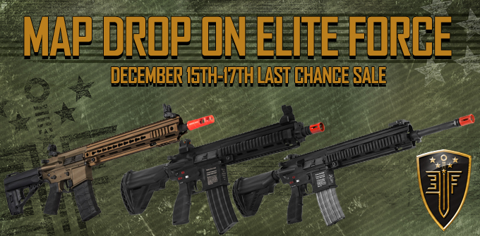 10% Off Elite Force Airsoft