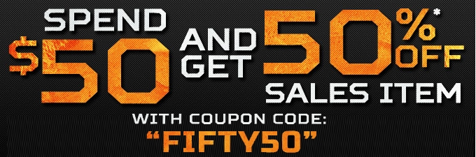 50% Off Airsoft Sale