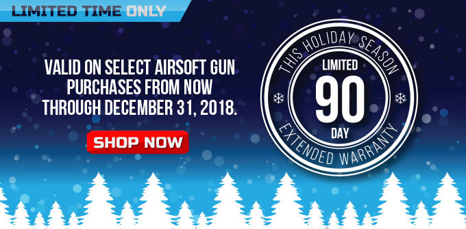 90-Day Airsoft Warranty