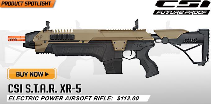 CSI XR-5 Airsoft AEG