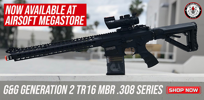 G&G TR16 .308 Airsoft AEG Now Available!