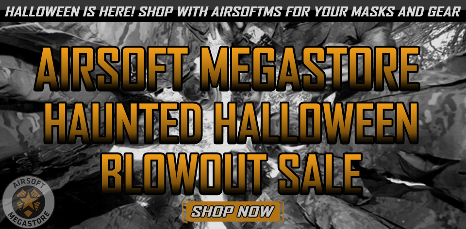 Haunted Halloween Airsoft Sale