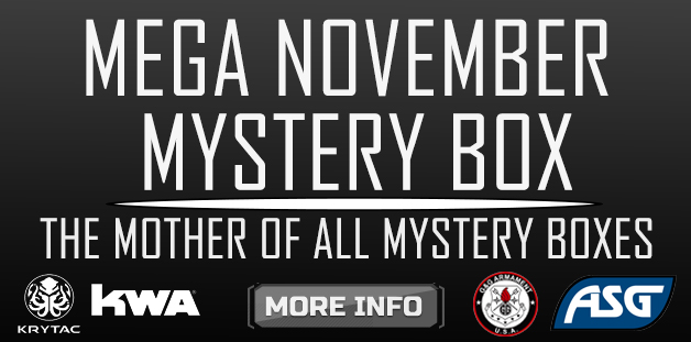 Airsoft Megastore Mega November Mystery Box