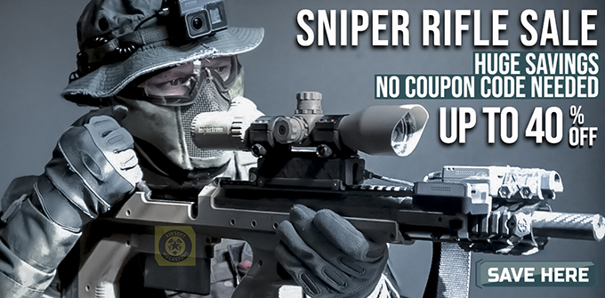 Airsoft Sniper Rifle Sale