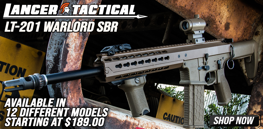 Lancer Tactical Warlord AEG