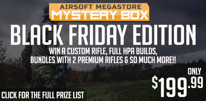 Airsoft Megastore MEGA Mystery Box 2018 - Holiday Edition