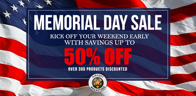 Airsoft Memorial Day Sale