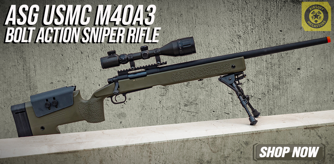ASG McMillan Bolt Action Sniper Rifle