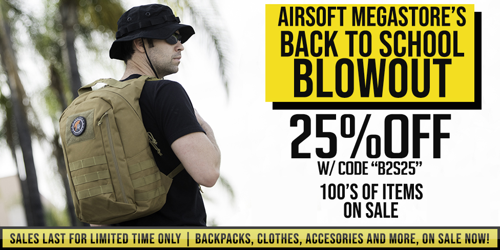 Airsoft Back to School Sale