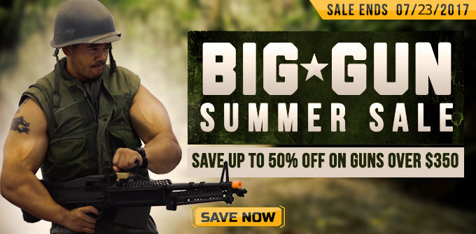 Big Guns Summer Sale