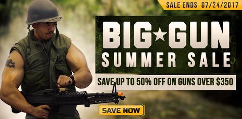 Big Guns Summer Sale