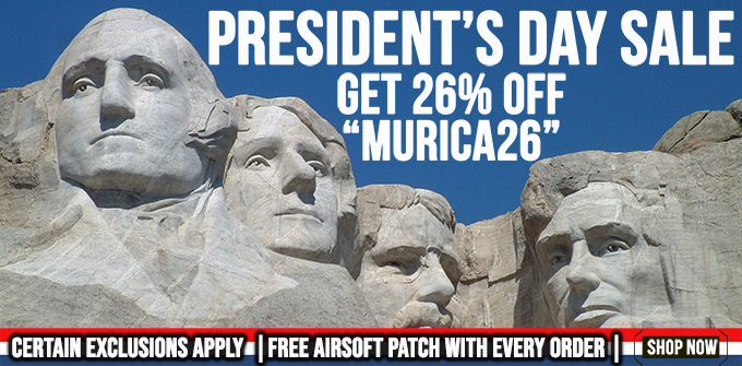 22% Off Airsoft Guns