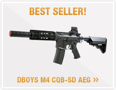 Best Seller! DBoys M4 CQB-SD AEG
