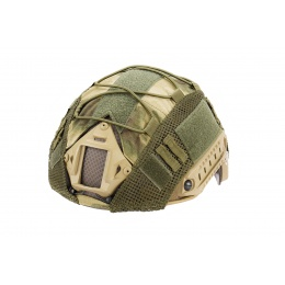 WoSport 1000D Nylon Polyester Bump Helmet Cover (Forest Green)