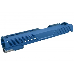 Airsoft Masterpiece EDGE RAZOR Slide for Hi-CAPA/1911 Pistol (Blue)