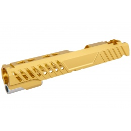 Airsoft Masterpiece EDGE RAZOR Slide for Hi-CAPA/1911 Pistol (Gold)