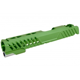 Airsoft Masterpiece EDGE RAZOR Slide for Hi-CAPA/1911 Pistol (Green)