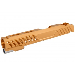 Airsoft Masterpiece EDGE RAZOR Slide for Hi-CAPA/1911 Pistol (Orange)