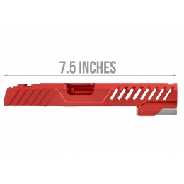 Airsoft Masterpiece EDGE RAZOR Slide for Hi-CAPA/1911 Pistol (Red)