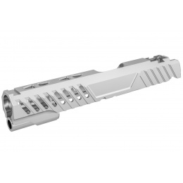 Airsoft Masterpiece EDGE RAZOR Slide for Hi-CAPA/1911 Pistol (Silver)