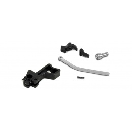 Airsoft Masterpiece CNC Steel Hammer & Sear Set for Marui Hi-Capa [Infinity Square] (BLACK)