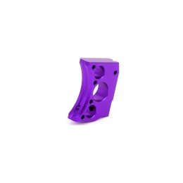 Airsoft Masterpiece Aluminum Trigger Type 12 for Hi-Capa Pistols - PURPLE