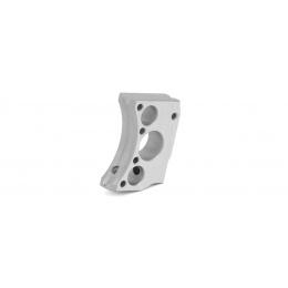 Airsoft Masterpiece Aluminum Trigger Type 12 for Hi-Capa Pistols (SILVER)
