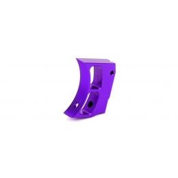 Airsoft Masterpiece Aluminum Trigger Type 2 for Hi-Capa Pistols (PURPLE)