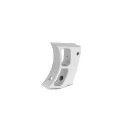 Airsoft Masterpiece Aluminum Trigger Type 2 for Hi-Capa Pistols (SILVER)