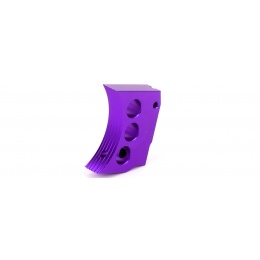Airsoft Masterpiece Aluminum Trigger Type 4 for Hi-Capa Pistols (PURPLE)
