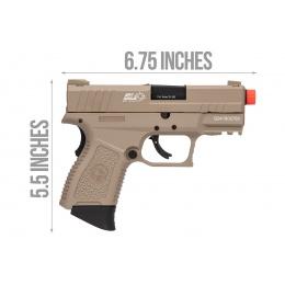ICS BLE XPD Compact Personal Defender Pistol (Tan)