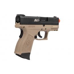 ICS BLE XPD Compact Personal Defender Pistol (Black/Tan)