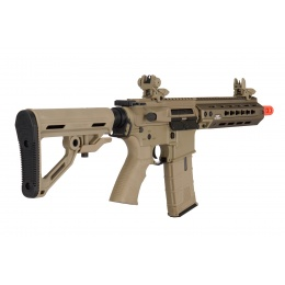 ICS CXP-HOP MTR (Rear Wired) Keymod AEG Rifle (Tan)