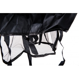 Lancer Tactical Portable Airsoft Target Tent, Black