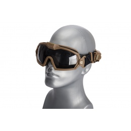 WST Tactical Anti-Fog Goggles (Tan)