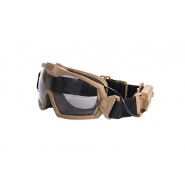 G-Force Tactical Anti-Fog Goggles (Tan)