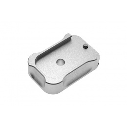 COWCOW TM G-Series Pistol Tactical Magbase (Silver)
