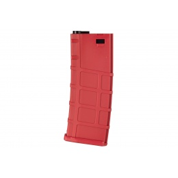 Lonex 200rd Mid Capacity M4/M16 Polymer Airsoft Magazine -RED