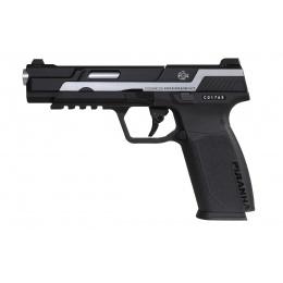 G&G Piranha MK1 GBB Pistol, Black/Silver