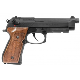 G&G GPM92 GP2 GBB Pistol w/ Walnut Wood Grip, Black