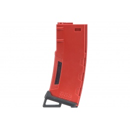 Lancer Tactical 130 Round High Speed Mid-Cap Magazine (Color: Red)