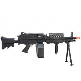 A&K MK46 M249 Saw Light Machine Gun w/ Polymer Receiver