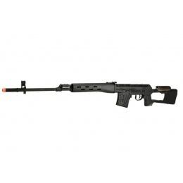A&K SVD Dragunov Electric Airsoft Sniper Rifle w/ Sportsman Stock (Color: Black)