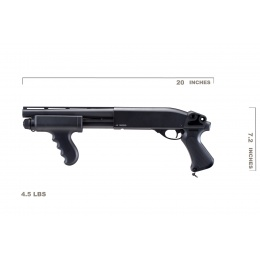 UK Arms IU-SXR1 CQB Pump Action Shotgun (Black)