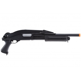 UK Arms Pump Action Spas 12 Hybrid w/ Foldable Stock (Color: Black)