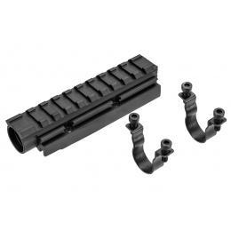 LCT AK Forward Optical Rail System (Black)
