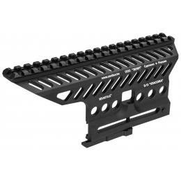 LCT Z-Series B-13 AK74 Classic Rail Platform Above Receiver (Black)
